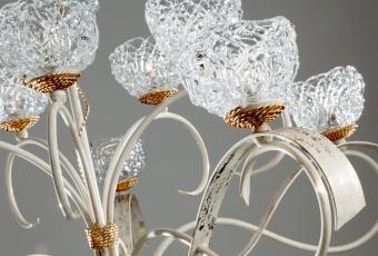 MASCA ARCTICA непрерывная нить из муранского стекла и металла